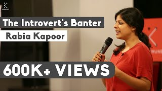 The Introvert's Banter - Rabia Kapoor at The Poetry Lounge