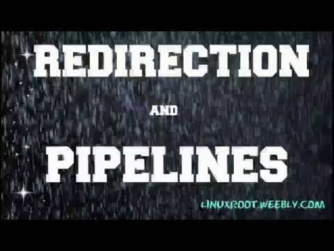 What is Redirection and Pipeline in Linux - Hindi ver.