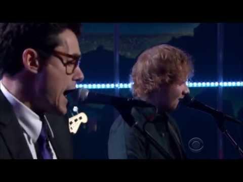 Ed Sheeran  John Mayer - Don't [Late Late Show 2015]