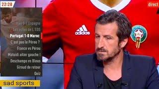 نقاش ببلاطو ليكيب الفرنسية حول رجل مباراة المغرب والبرتغال وهدف رونالدو سبقه خطأ من بيبي