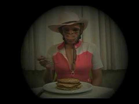 Gorilla Girl Eats Pancakes