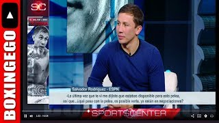 GENNADY GOLOVKIN WANTS THAT CANELO REMATCH ACTION OR WBO SAUNDERS-LEMIEUX UNIFICATION *BOXINGEGO*