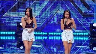 The Chainsmokers - Don't let me down ft. Daya. Vezi aici cum cântă J&J Twins la X Factor