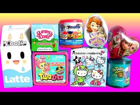 TOYS SURPRISE Yummy World Twozies Tokidoki Hello Kitty Frenzies Moofia Latte Frozen Toilet Candy