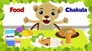 Learn Swahili with Akili | Food / Chakula | Kiswahili & English