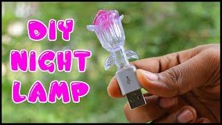 How to make a Usb night lamp - DIY usb Lamp