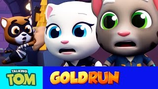 Talking Tom Gold Run - The Hammer of Justice (Official Trailer)