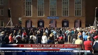FULL Speech: Donald Trump Rally in Virginia Beach, VA at Regent University 10/22/16