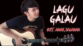 (Al Ghazali) Lagu Galau - Nathan Fingerstyle | Guitar Cover & Lirik | OST. Anak Jalanan