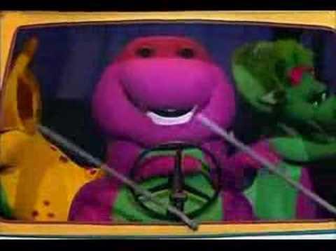 Barney el dinosaurio Las ruedas del Autobus