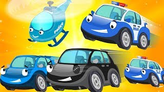 Bob The Police car chase Bad Thief car - Super Cars & Big Truck for Kids - Children Cartoon