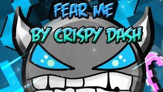 MUCHO AZUL PARA MIS OJOS! - Fear Me By CrisPy Dash [Geometry Dash] (MEDIUM/EASY Demon) | RafDroid