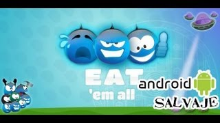 Eat'em All Android: Cómete a los aliens Android Gameplay -Audio Español Androidsalvaje