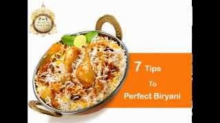7 Tips to make Perfect Biryani