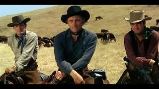 Man Without a Star (1955) Western Movies -  Kirk Douglas, Jeanne Crain, Claire Trevor