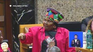 EFF Women vs ANC Women Entertains Parliament