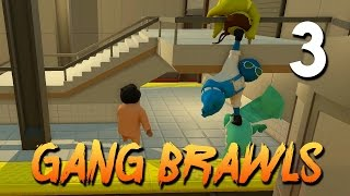 [3] Gang Brawls (Let's Play Gang Beasts w/ GaLm and friends)