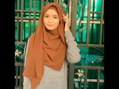 THE BEST TUTORIAL Mira filzah style shawl scarf HIPSTER