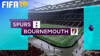FIFA 19 - Tottenham Hotspur vs. AFC Bournemouth @ Wembley Stadium