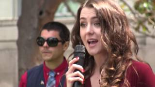 Brittany Pettibone speaking clips at Battle of Berkeley 3