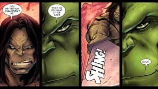 Skaar VS Hulk