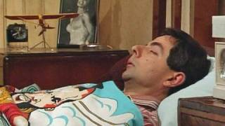 Mr Bean - Alarm clock and getting up
