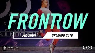 FIK-SHUN | FrontRow | World of Dance Orlando 2016 | #WODFL16
