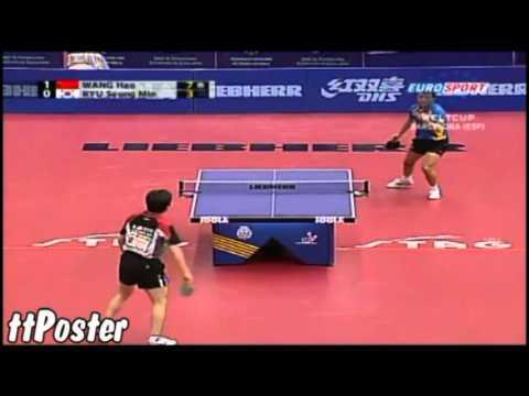 World Cup 2007: Wang Hao-Ryu Seung Min