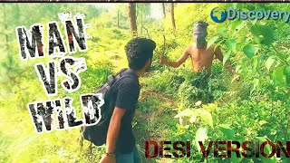 Man Vs Wild (Desi version)|| funny spoof || HIMACHALI ||Discovery ||kangra boys 2017