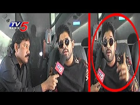 Bunny Stylish Warning : Special Interview With Allu Arjun At Dallas | USA | Tv5 News