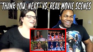 Ariana Grande Thank You, Next Music Video Compared to Real Movie Scenes REACTION