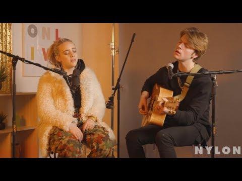 Billie Eilish performs for NYLON