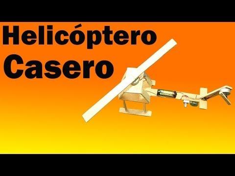 Como hacer Un Helicóptero Eléctrico Casero Fácil de hacer