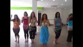 Sabrina's Hen Do Belly Dance Single Ladies Beyonce'