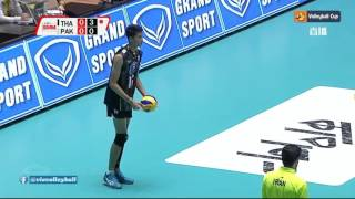 Pakistan Vs Thailand volleyball match 2017 Asian u23 volleyball championship Ardabil Iran