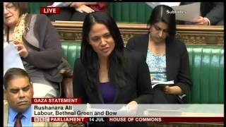 Israel accused of war crimes (UK Parliament)