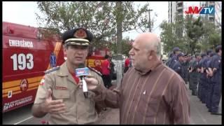Formatura Bombeiros Voluntários de Timbó - 27-02-2013