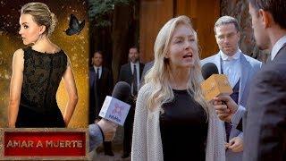 Lucía reta al cártel de los Armenta | Amar a muerte - Televisa