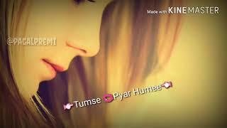 Romantic song dheere dheere se mere dil ko churaana whatsapp status
