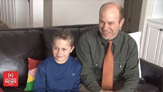 9-Year-Old Boy Recalls Moment He Jacked Up Car To Save Trapped Dad
