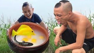 Mao Đệ Đệ Nấu Cơm Trứng Cá Rau Cười Đau Ruột ( Thử Thách 24h Thất Bại Thảm Hại )
