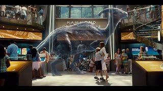 JURASSIC WORLD - 'The Samsung Innovation Center' (2015) Chris Pratt Dinosaur Movie [720p]