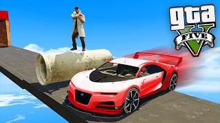 GTA V Online: PARKOUR vs SUPER CARROS - A VINGANÇA !!