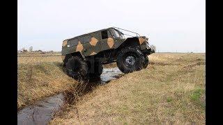 Кастомный вездеход на базе ГАЗ 66