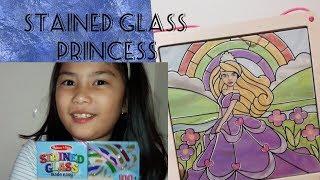 E28 DIY Melissa and Doug Stained Glass Princess | Uriel TV
