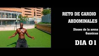 RETO CARDIO ABDOMINALES DIA 01