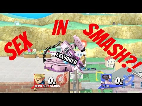 Sex in Smash 4?! Zero Suit Samus - Zero to Death (Wait for it..)