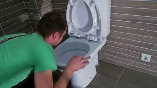 Installing New Toilet