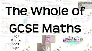 The whole of GCSE 9-1 Maths in only 2 hours!! Higher and Foundation Revision for Edexcel, AQA or OCR