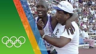 Derek Redmond at Barcelona 1992 | Epic Olympic Moments